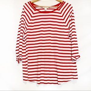Forever 21 Plus striped top